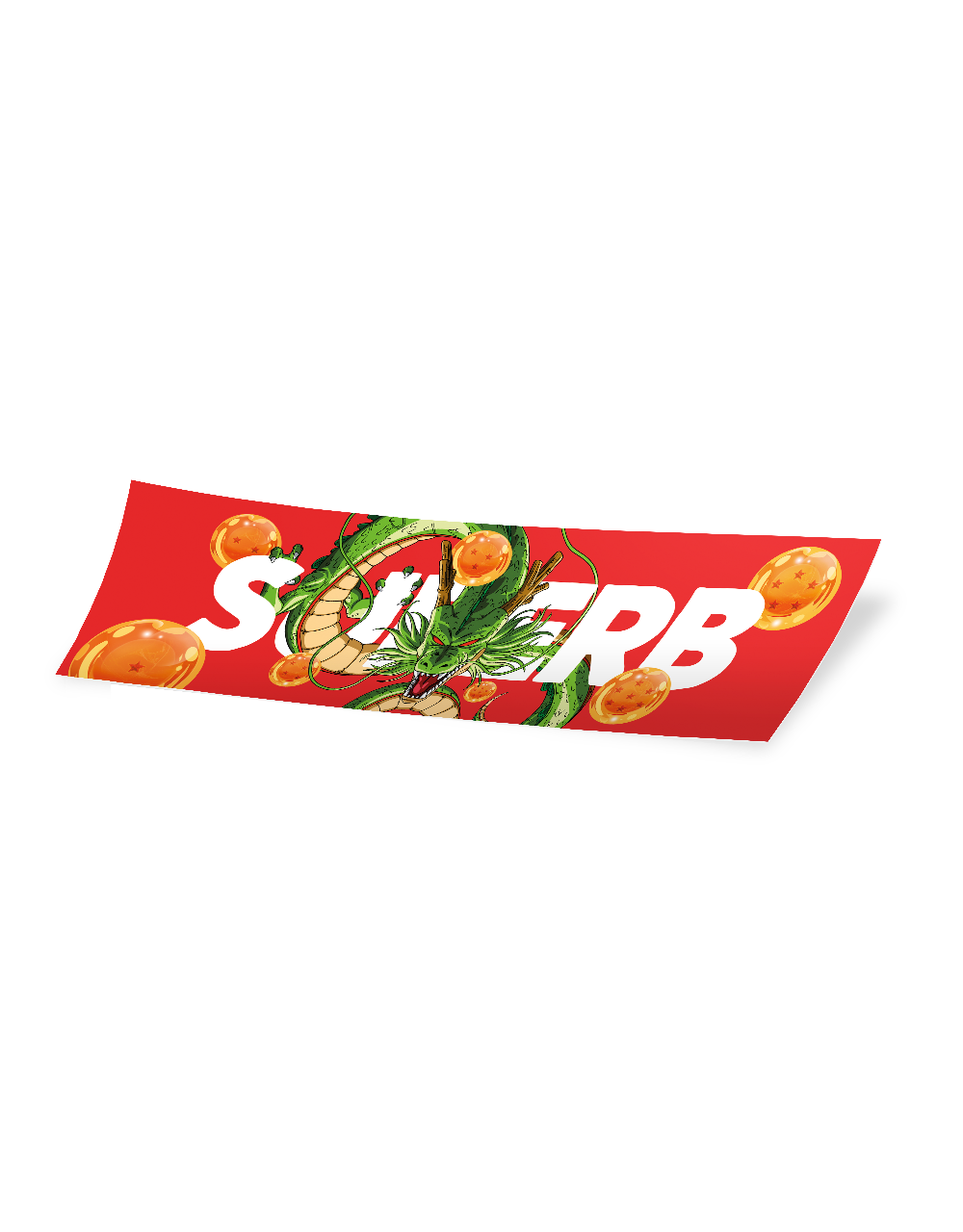 Slap Sticker web - Big Shenron